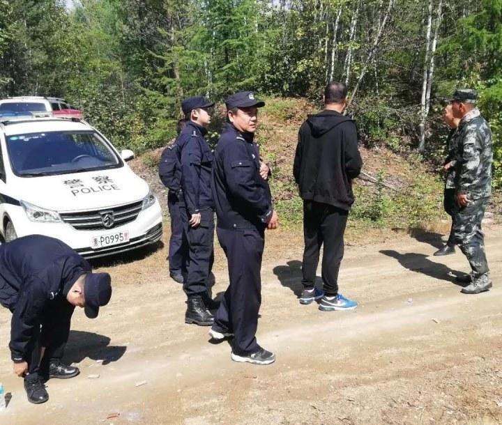 塔河县多部门联动搜山5小时解救山迷