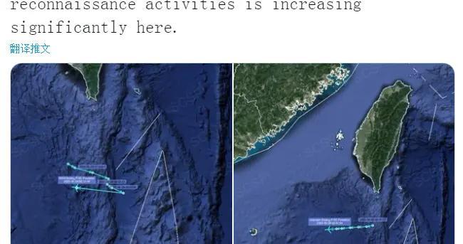 """美军""""偷窥""""南海频度增加 一次派出两架P-8A巡逻机"""