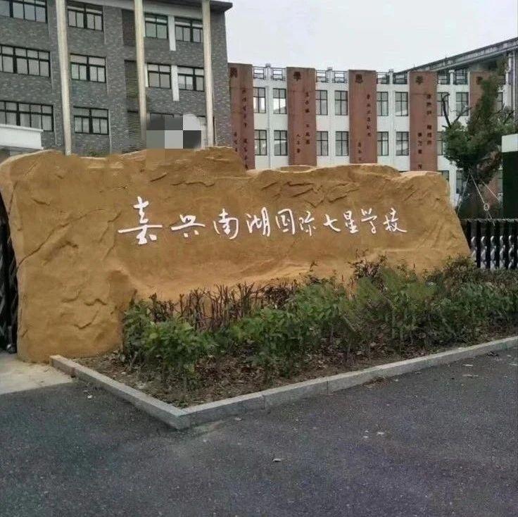 嘉兴七星中小学改名南湖国际七星学校了!网友:变民办学校?