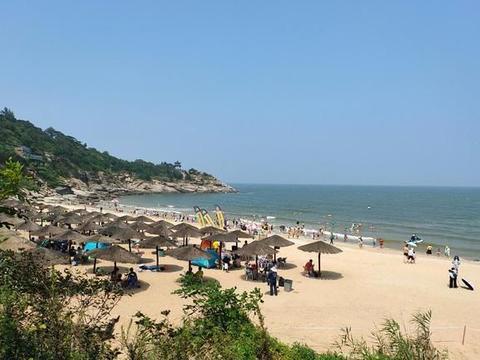 连云港苏马湾,海滨旅游度假胜地,海水洁净、自然风光纯美