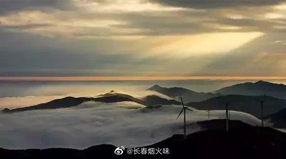 东白日出 东白山露营,观日出是绝对不可错过的美景 云海之中……