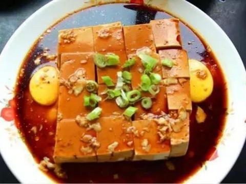 过桥豆腐,麻婆豆腐,茶香花生藕,胡萝卜甜菜根沙拉