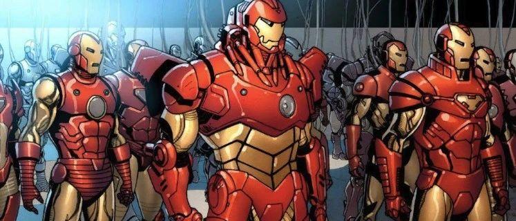 漫威冷知识:漫威漫画中的钢铁侠,共研发了多少套战甲?
