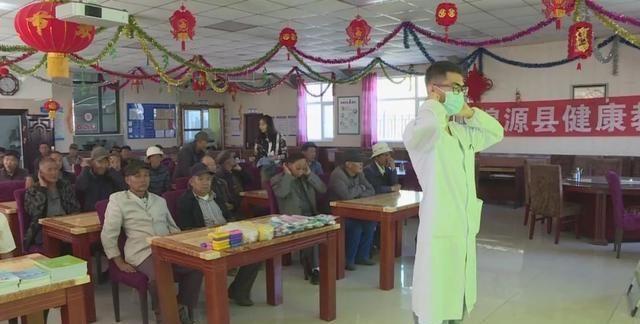 湟源县卫生局在第二年开展健康促进周服务活动