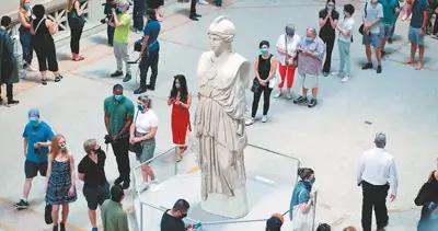 纽约大都会艺术博物馆重开