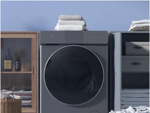 静音洗涤、除菌99.9%,小米发布米家互联网直驱洗烘一体机10kg
