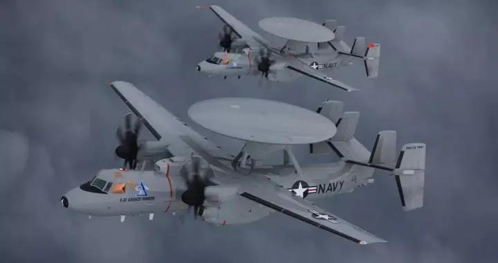 又出大事故,美军一架鹰眼预警机坠毁,专家:保养经费用哪里了?