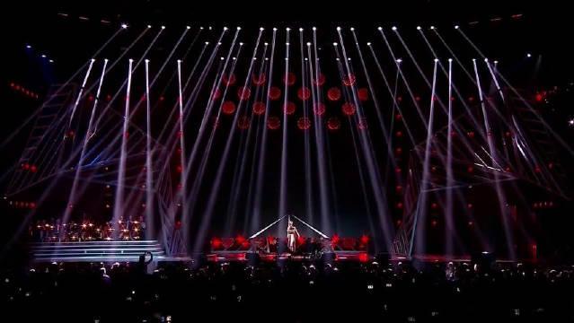 俄罗斯2019年度歌曲演唱会波琳娜·加加林娜