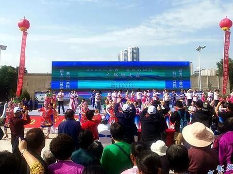 山丹县创编的《胡腾欢舞》获甘肃省广场舞大赛二等奖