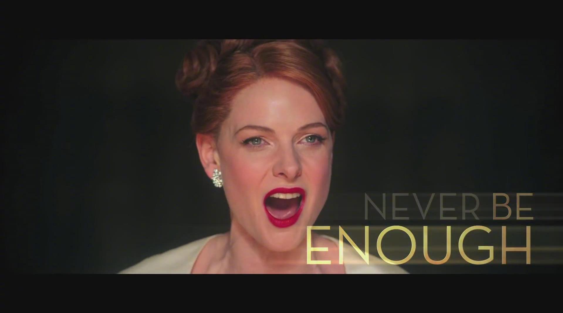 电影《马戏之王》中的插曲《Never Enough》(永不满足)……