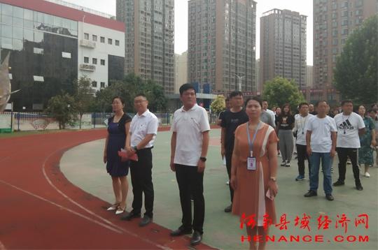 商丘市梁园区第一所惠民小学举行了202