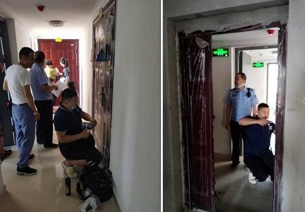 湖北荆州中院:案外人拒不交出房屋钥匙 法院一次性强制交付36套商品房