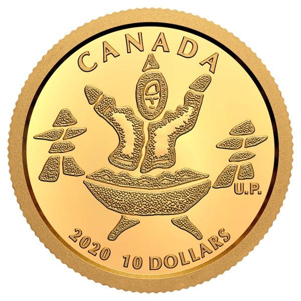 加拿大皇家造币厂9月收藏家硬币发行,重点体现北极文化和自然资源