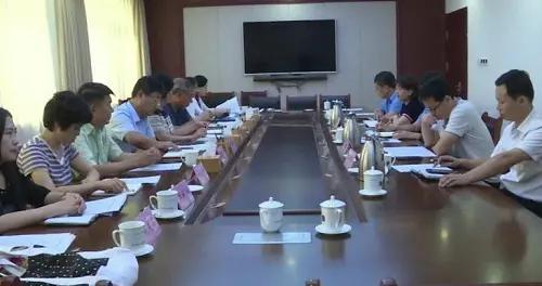 东营市河口区人大常委副主任郭玉珍带队开展科技创新平台建设工作调查