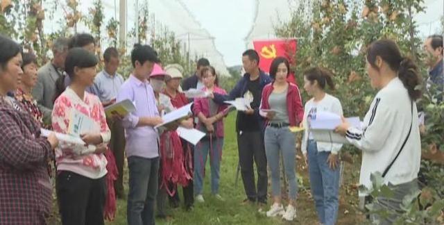 咸阳春花:开展果园秋季管理培训 帮助果