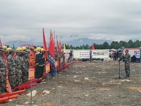 四川省冕宁县:全要素演练,提升森林火灾综合处置能力