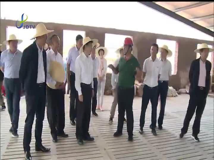 嘉定党政代表团考察云南省楚雄州大姚县和姚安县