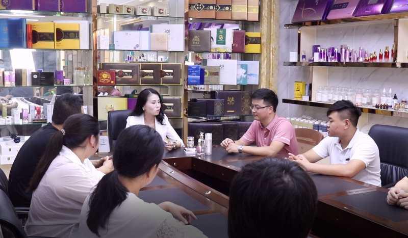 成功之路栏目专访伯吉(东莞)生物科技有限公司董事长徐望娣