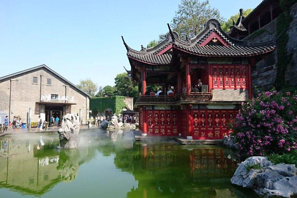 镇江的另一个古镇很受欢迎 它在江苏被称