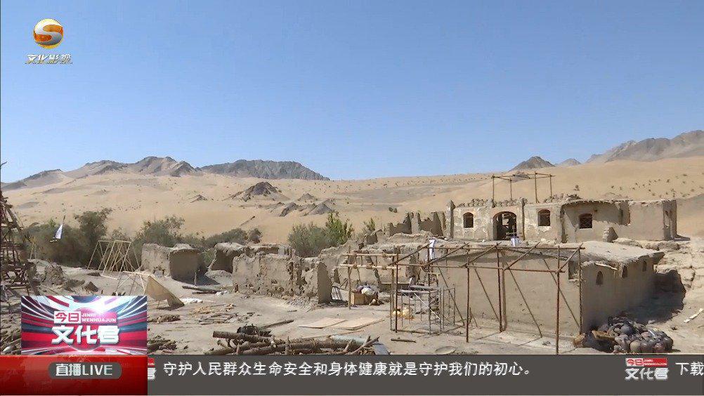 电影《战斗吧·木兰》在阿克塞多坝沟胡杨峡景区开机拍摄