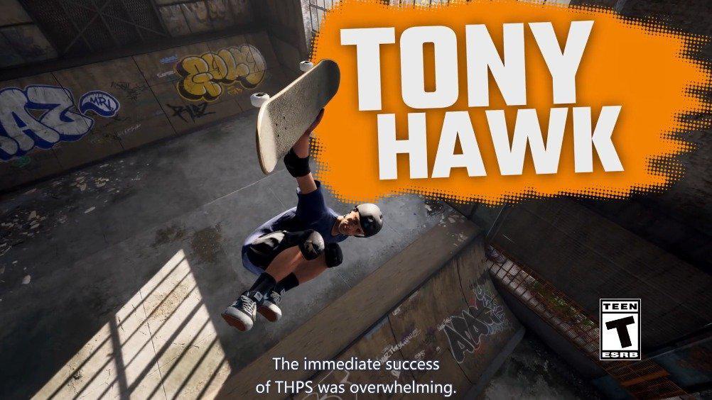 《托尼霍克职业滑板1+2 重制版》现已正式发售……