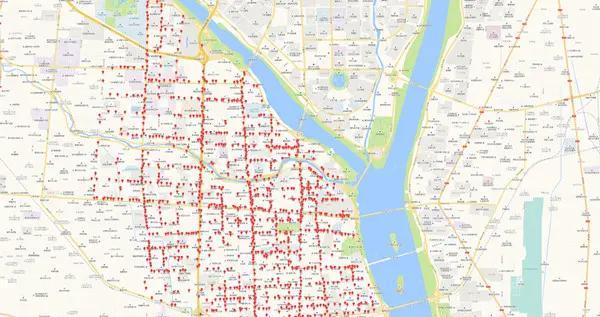 """共享单车有了统一""""电子围栏""""临沂市第一批还车区设点公示"""