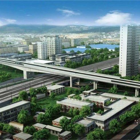 跨陇海铁路段:西北最大的转体项目