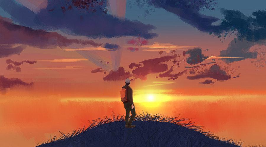 每一个早晨,都是一个愉快的邀请。 ——梭罗《瓦尔登湖》