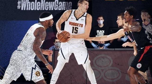 NBA季后赛继续开打,西部半决赛G2,洛杉矶快船面对丹佛掘金