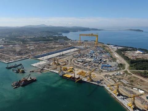 红星造船厂485米长新干船坞将完工,俄海军泪奔:核航母有希望了