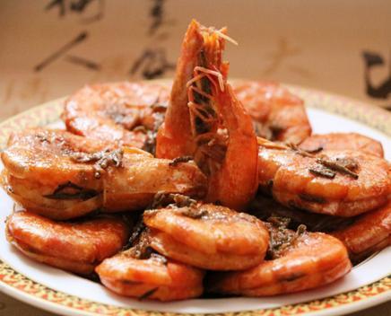 鸭血豆腐汤,干锅开背虾,茶香虾,土豆焖鸭翅的做法