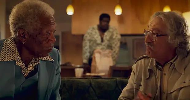 罗伯特德尼罗、摩根弗里曼喜剧曝预告 汤米李琼斯也加盟《回归之路》11.13北美上映