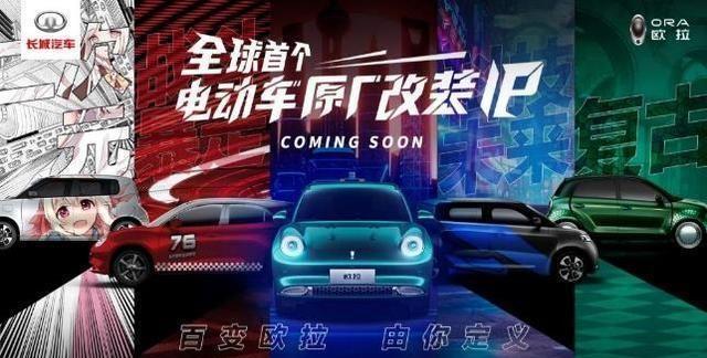 """长城欧拉""""私人订制""""全球首个电动车原厂改装IP即将来袭"""