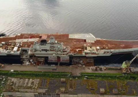 红星造船厂485米长新干船坞将完工,俄海军:核航母有希望了