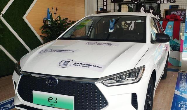 国内的新能源汽车,比亚迪e3怎么样?