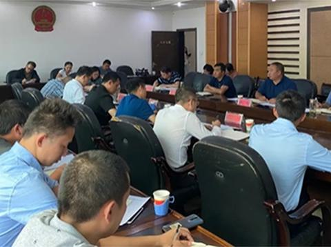 冕宁县召开环保水务PPP项目约谈暨工作推进会