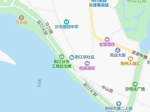荆州沿江大道有3点新变化,其中有一处黄色网格线,走错的很多