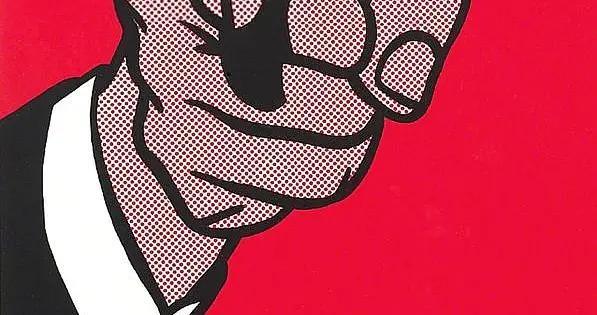 网点画法,以戏仿其他画家的作品而出名的波普艺术家——罗伊