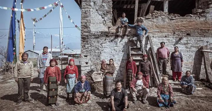 尼泊尔塔米族人,生活在高山上的古老部落