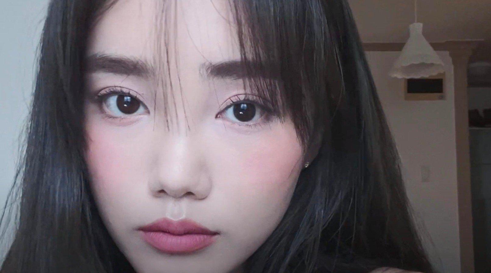 「柔雾玫瑰粉韩系日常妆容💕」 CR.하뉴리(HANURI)