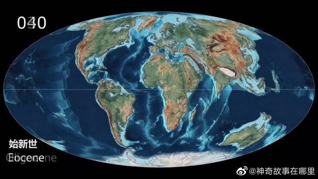 54亿年前的地球是这样的?大陆漂移假说?不久会成超级大陆吗