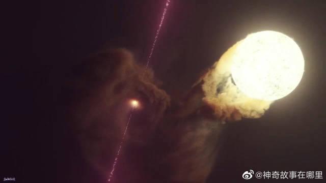 超美!这就是双星微类星体的样子!不错