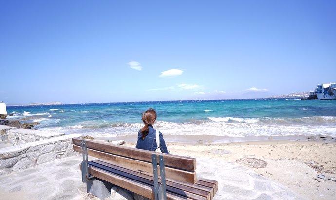 希腊旅游记得玩一下海岛,米科诺斯岛有东南亚海岛的一切