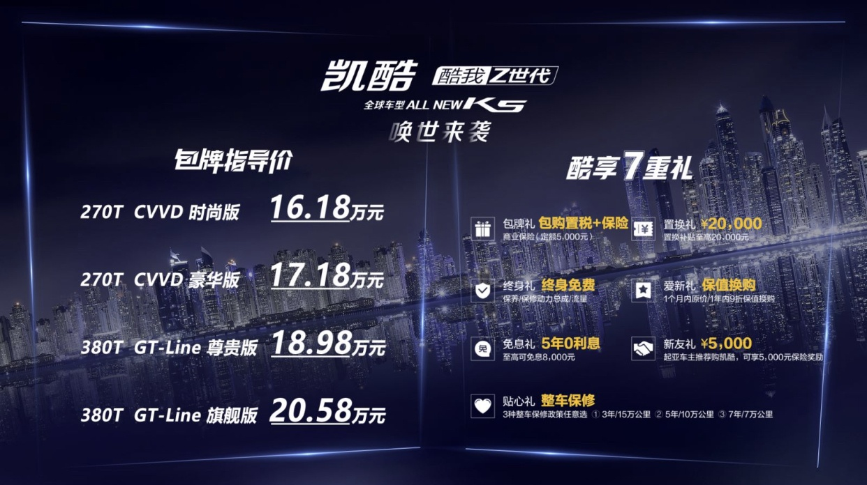 """全新东风悦达起亚凯酷K5上市:打一场品牌""""逆战"""""""