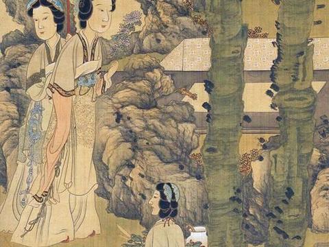 另类之美让人着迷,陈洪绶绘《眷秋图》
