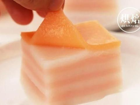 消耗粘米粉 做成可以层层撕着吃的娘惹九层糕,简单美味