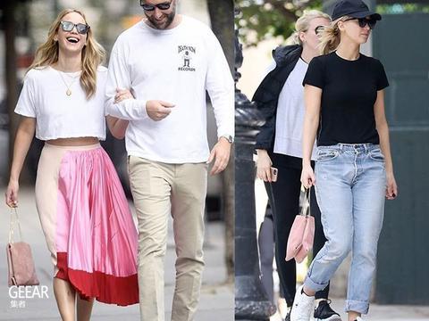 詹妮弗·劳伦斯的爱包不止Dior,还有这个低调极简的品牌!