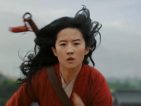 85后女演员刘亦菲参演《花木兰》后,她的三句感言不是开玩笑