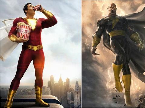 沙赞对决黑亚当,在《沙赞3》或《黑亚当2》上演,超人也会凑热闹