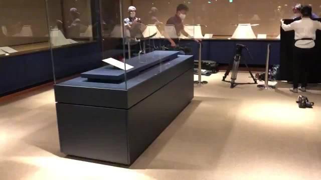 山鸟毛 明天开始展示了,在濑户内市的備前長船刀剣博物館……